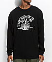 Beer Savage Sport Drinking Black Long Sleeve T-Shirt