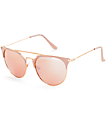 Big Shot Nude & Rose Gold Sunglasses