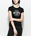 Billabong Label Shrunken Black T-Shirt