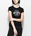 Billabong Label Shrunken camiseta negra