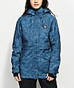 Billabong Tundra Indigo Blue 10K Snowboard Jacket