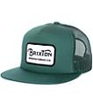 Brixton Grade Chive Trucker Hat