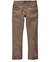 Brixton Reserve 5 Pocket Dark Khaki Pants