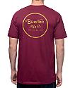Brixton Wheeler II Burgundy T-Shirt