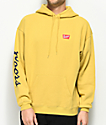 Brixton x Coors Banquet Buff Yellow Fleece Hoodie