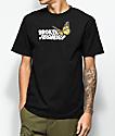 Broken Promises Monarch Black T-Shirt
