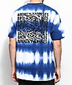Broken Promises Whirlpool Blue Stripe T-Shirt
