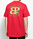 Brooklyn Projects X Lizard King Lizard Red T-Shirt