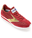 Brooks Vanguard Imperial Red Dahlia & Gold Womens Shoes