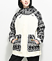 Burton Eastfall Mojave Black & White 10K Snowboard Jacket