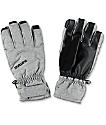 Burton Profile Heather Grey & Black Snowboard Under Gloves
