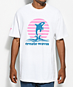 Cake Face PNW Create Waves White T-Shirt