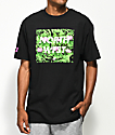 Cake Face PNW In The Ferns Black T-Shirt
