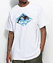 Cake Face PNW Wavy White T-Shirt