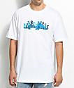 Cake Face Sea City Life White T-Shirt