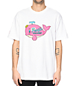 Cake Face Sea Get Wet White T-Shirt
