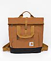 Carhartt Brown Hybrid Tote Backpack