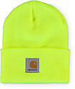 Carhartt Watch Bright Lime Beanie