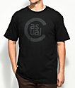 Casual Industrees PNW C-Sport Black T-Shirt