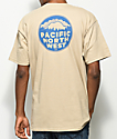 Casual Industrees PNW Crest Tan T-Shirt