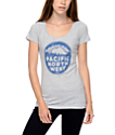 Casual Industrees PNW Distressed Heather Grey T-Shirt