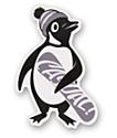 Casual Industrees Penguin Sticker