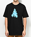 Casual Industrees Sea Johnny Tree Pool Black T-Shirts