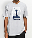 Casual Industrees Seatown Fans Grey T-Shirt
