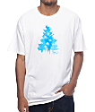 Casual Industrees WA Johnny Tree Clouds White T-Shirt