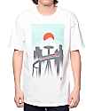 Casual Industrees WA Monorail White T-Shirt