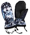 Celtek Bitten By A Mitten Wolf Pack Snowboard Mittens