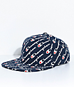 Champion Explodes Script Navy Strapback Hat