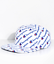 Champion Explodes Script White Strapback Hat