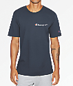 Champion Heritage Embroidered Script Navy T-Shirt