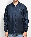 Champion Navy Coaches Jacket