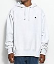 Champion Reverse Weave Embroidered C Silver Grey Hoodie