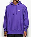 Champion Reverse Weave Purple Hoodie