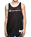 Champion Reversible Black & Red Mesh Jersey