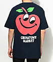 Chinatown Market Apple Navy T-Shirt