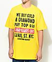 Chinatown Market Canal Street Gold Yellow T-Shirt