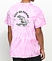 Chomp Keep On Pink Tie Dye T-Shirt