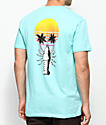 Chomp Prawn Trees Mint T-Shirt