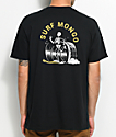 Chomp Surf Mongo Black & Yellow T-Shirt