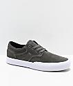 Circa Elston Charcoal & White Skate Shoes