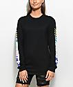 Civil Nasty Black Long Sleeve T-Shirt