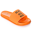 Civil Slay All Day Orange Slide Sandals
