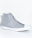 Converse CTAS Cordura Hi Wolf Grey & White Shoes