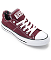Converse Chuck Taylor All Star Madison Deep zapatos en borgoña
