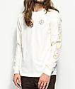Converse Cons Wordmark Egret White Long Sleeve T-Shirt