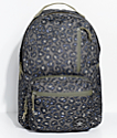 Converse Go Pack Olive Leopard Print Backpack